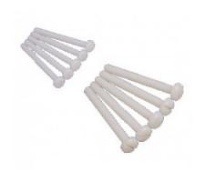 Surub plastic (polyamid) M5x40, 10 buc.