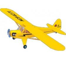 image: Aeromodel Piper Cub EP, anv. 1520 mm