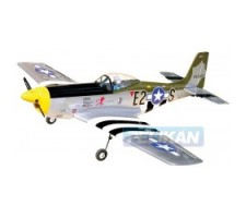 image: Aeromodel P-51D Mustang EP 1370 ARF