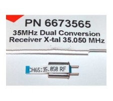 image: Cristal Hitec Rx dubla conversie, 35 MHz