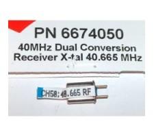 image: Cristal Hitec Rx dubla conversie, 40 MHz