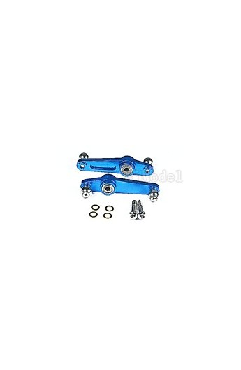 image: GL450C Flybar Seesaw Mixing Arm GL1129 (Blue)