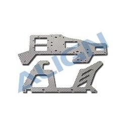 T-Rex450 Main Frame (SILVER) HS1244T-75