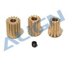 T-Rex450 Motor Pinion Gear(11, 13, 15T) HZ021