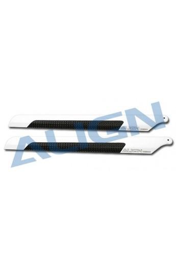 image: T-Rex250  H25072 205D Carbon Fiber Blades