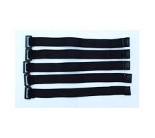 image: Banda velcro colier elastica, 20x220mm 5 buc.