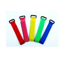 image: Banda velcro colier color 20x200mm 5 buc.