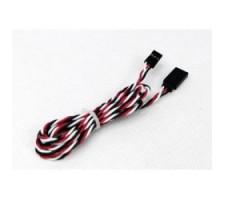 image: Cablu prelungitor servo 100cm, torsadat