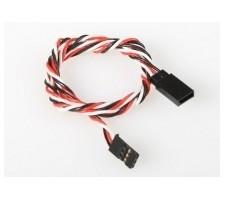 image: Cablu prelungitor servo 90 cm, torsadat FU-024