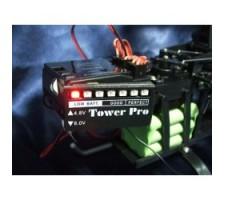 image: Indicator tensiune baterie VU