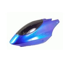 image: GL450 Plastic Canopy for 450 Helicopter (blue)