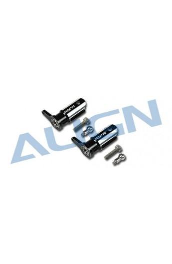image: T-Rex250 H25003-00 Metal Main Rotor Holder Set/Black