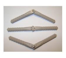 image: Balamale plastic 2x15 mm, 10 buc