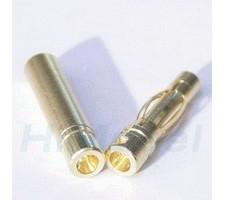image: Conectori auriti 4 mm