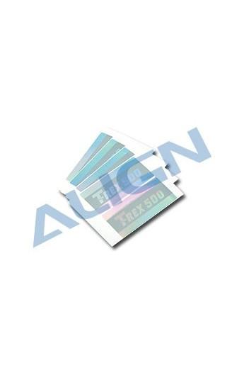 image: AH50058 Flybar paddle sticker ptr. T-Rex 500