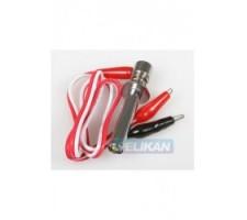 image: Fisa bujie 55 mm cu cablu si cleme QM180