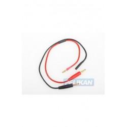 Cablu incarcare cu conectori Gold 4 mm