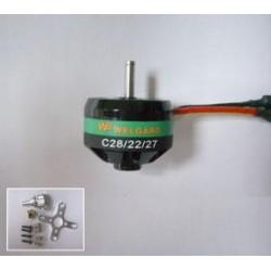 Motor BL C2822-27WE, KV: 1540, 7A