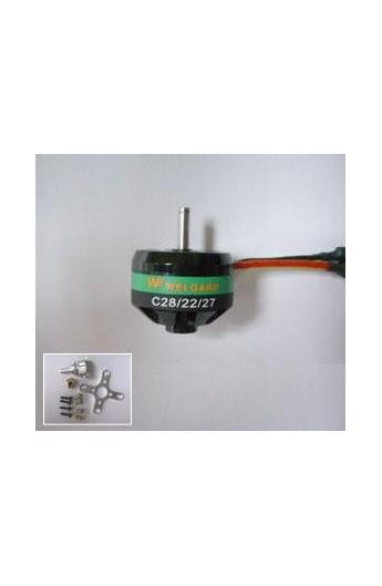 image: Motor BL C2822-27WE, KV: 1540, 7A