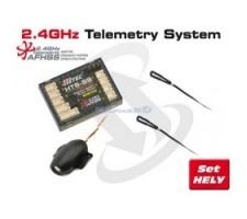 image: Telemetrie Hitec - Basic pack Heli