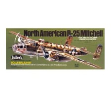 image: Aeromodel B-25 Mitchell, kit Guillow's