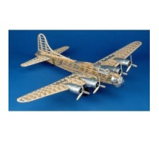 image: Aeromodel B-17G Flying Fortress 1:28, kit Guillow's