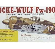 image: Aeromodel Focke Wulf FW-190, kit LC Guillow's