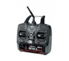 image: Radiocomanda 5 c. Hitec Optic 5 2.4 GHz cu rec. Minima 6T