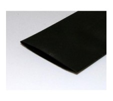 image: Tub termocontractil color 51mm x 100cm (negru)