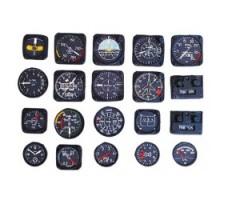 image: Instrumente de bord in relief avion 1:4