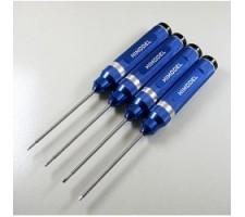image: Surubelnite imbus set 1.5, 2, 2.5, 3 mm cu maner Alu