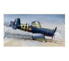 image: Model static F4U-7 Corsair, 1:72