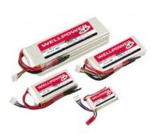 image: Acumulator LiPo WellPower SE 7.4V 850mAh, 20/40/2C
