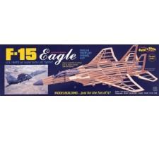 image: Aeromodel F-15 Eagle, kit de macheta statica 1:40 balsa