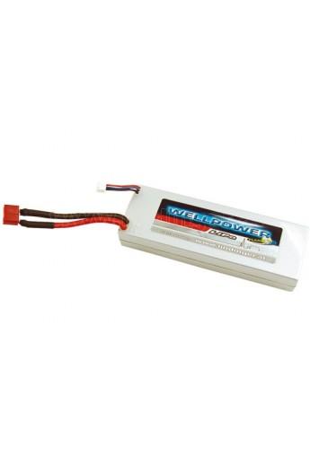 image: Acumulator LiPo WellPower SE 7.4V 4000 mAh, 50/100/2C Hard Case