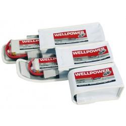 Acumulator LiPo WellPower SE V2 7.4V 2500 mAh, 45/80C, 5C