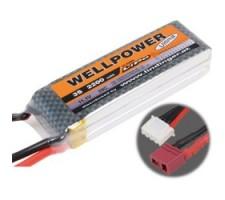 image: Acumulator LiPo WellPower Ultima 11.1V 2200 mAh, 35/70C, 5C