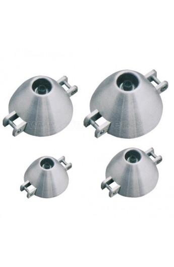 image: Con elice plianta din aluminiu 40/5 mm