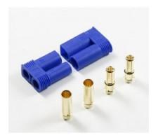 Conectori auriti 5 mm cu carcasa