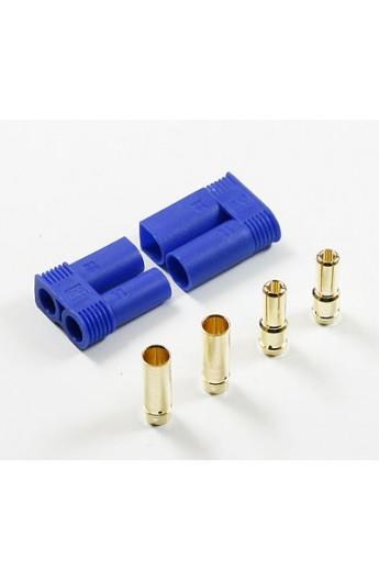 image: Conectori auriti 5 mm cu carcasa