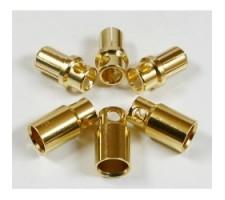 image: Conectori auriti 8 mm