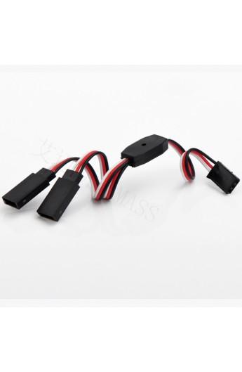 image: Cablu servo Y 15 cm FU-040