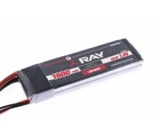 Acumulator LiPo G4 RAY 1600 mAh, 7.4V, 2/30/60 C
