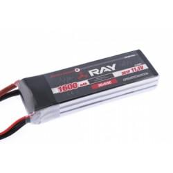 Acumulator LiPo G4 RAY 1600 mAh, 11.1V, 2/30/60 C