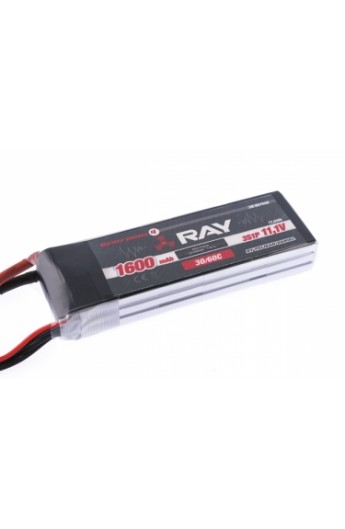 image: Acumulator LiPo G3 RAY 1600 mAh, 11.1V, 2/30/60 C