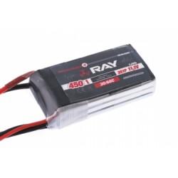 Acumulator LiPo G4 RAY 450 mAh, 7.4V, 2/30/60 C