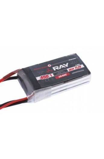 image: Acumulator LiPo G3 RAY 450 mAh, 7.4V, 2/30/60 C