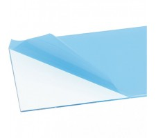 Placa PET transparenta 0.5 mm 50x25 cm
