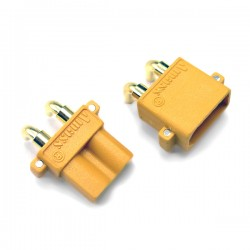 Conectori auriti XT-30 PCB 90 grade