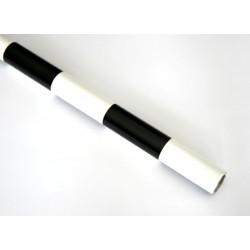 Folie termoadeziva Negru-Alb 638x1000 mm